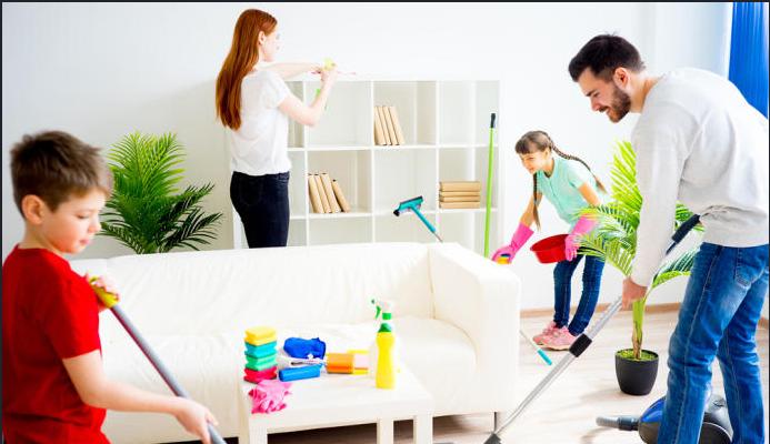 12 خطوة لتنظيف شامل